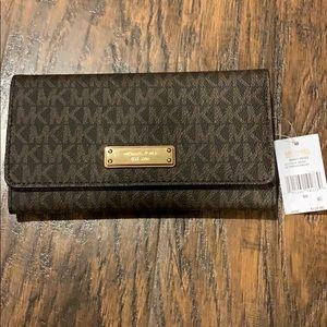 Michael Kors Large Trifold Wallet